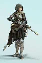 Yazmeen - Medieval Sniper Concept -