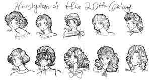 Hairstyles of the 20th Century