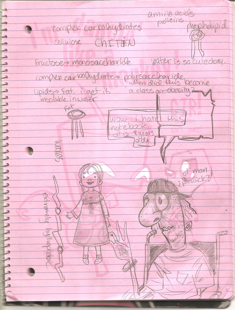 wretched awful school notes by karynironsides