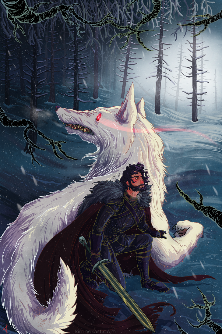 Jon Snow by Blind-Seraphim