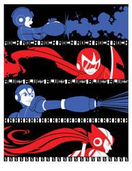 Heros: Tricolor Print by tabbykat
