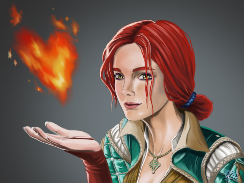 Triss Merigold by siberzer0