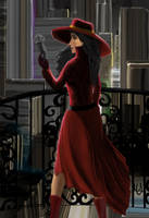 Carmen Sandiego by cybercat08