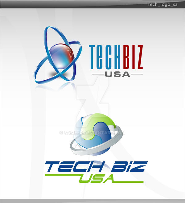 tech logo by sameer