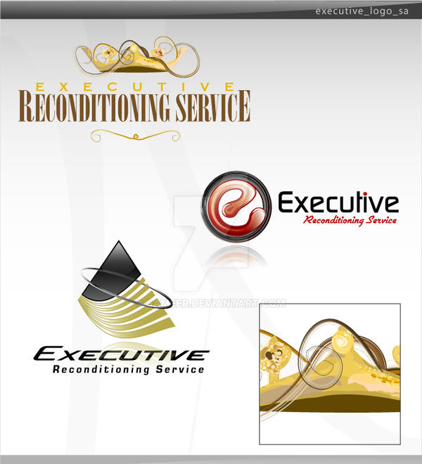 executive logo by sameer
