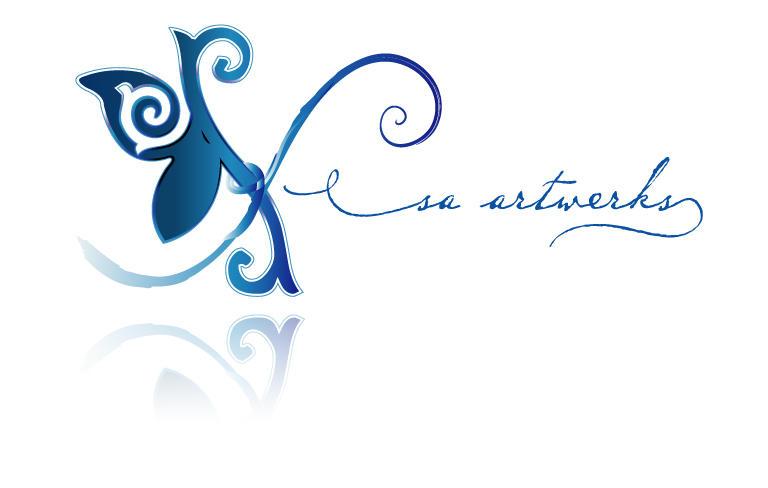 sa artwerks logo by sameer