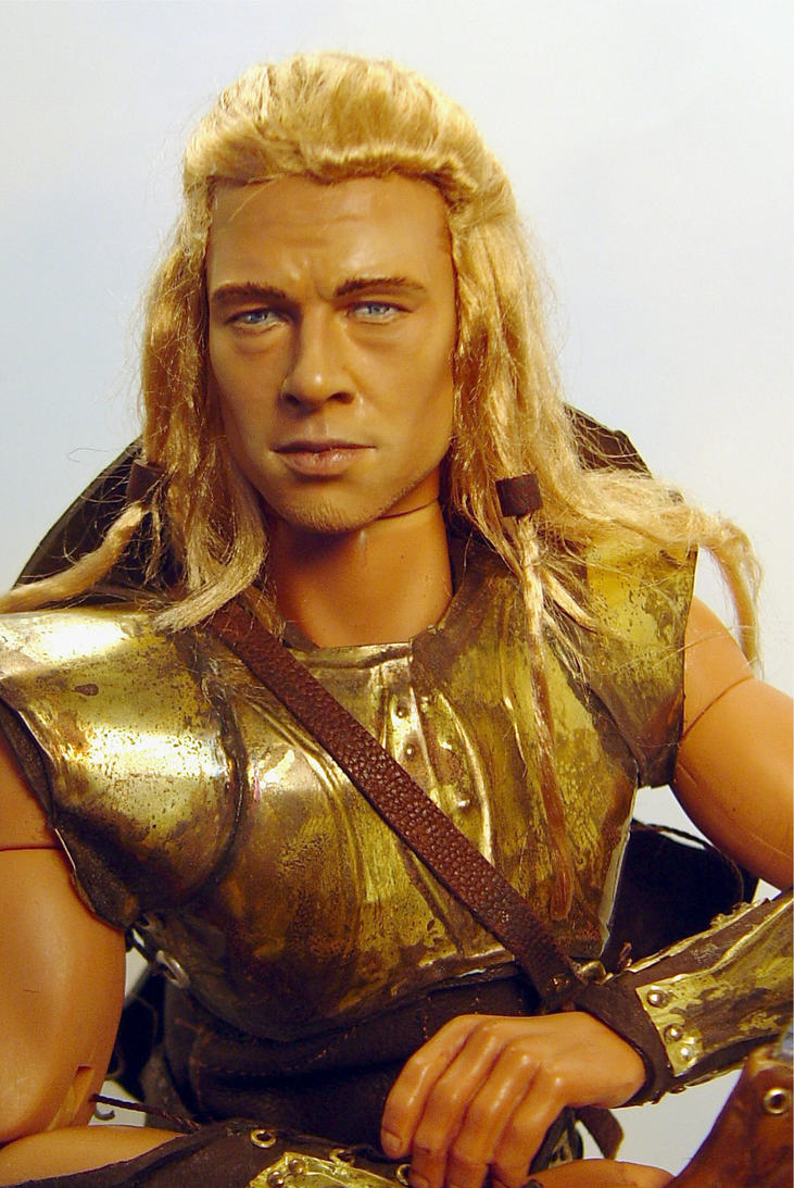 Achilles close up by Sla-r on DeviantArt Achilles Brad Pitt Hair