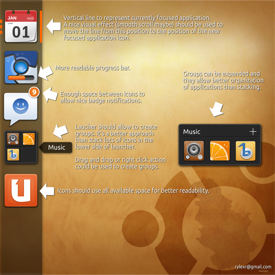 A better Ubuntu Unity Launcher - Part I by rylexr