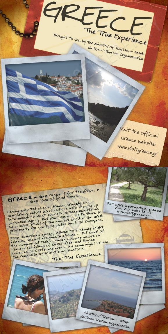Travel Brochure Greece By Wingedangelserenity On Deviantart
