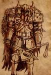 Malphis Parchment Sketch