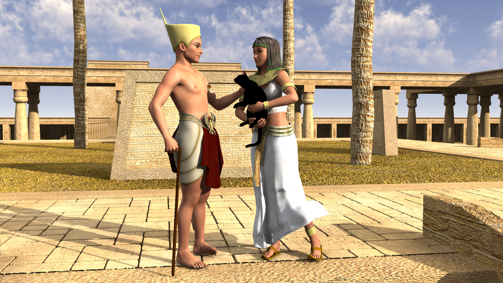 Lovers in Egypt by Allocer2009