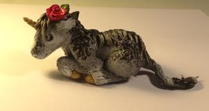 Unicorn Foal Sculptured