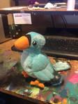 Blue Bird Plush - Pattern by BeeZee