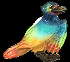 Flight Rising - Blue Footed Gull Adopt