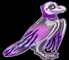 Flight Rising - Blue Footed Gull Adopt 2