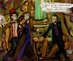 The Three Doctors by edikken