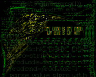 Code is Art by Narica by photoshop-alliance