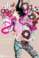 ipod advertising by lynnesta
