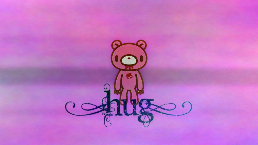 Pink_Gloomy_Bear_Wallpaper_by_