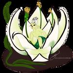 Panda Lily by kayles-jabberwock
