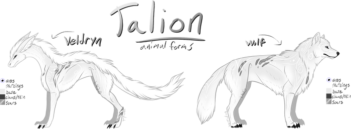 [P] Talion - Animal Forms Ref