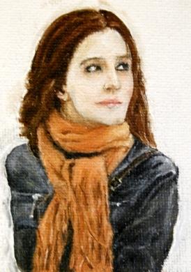 Traditional Portrait. by BorrowedFantasies