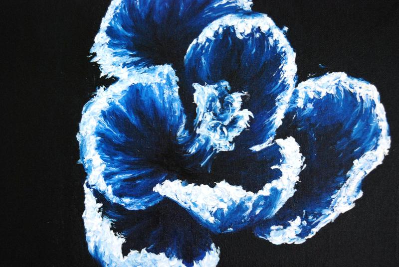 Blue Water flower by BorrowedFantasies