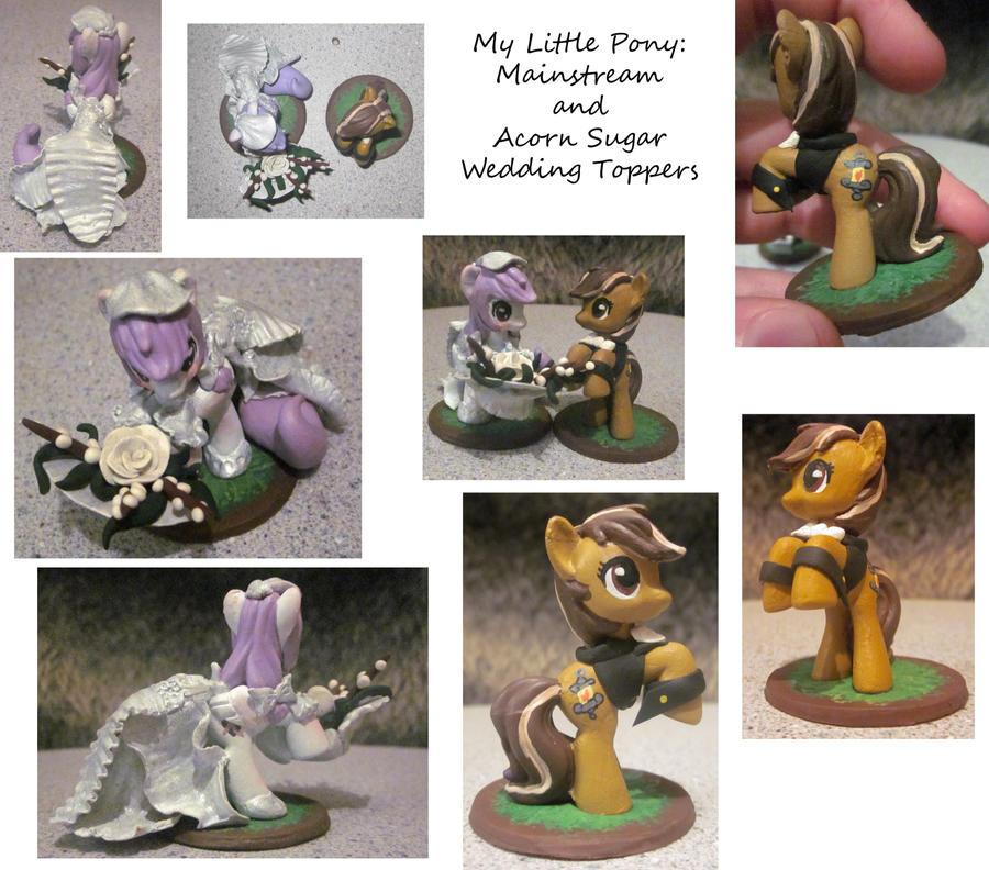 My Little Pony Wedding: My Little Pony Wedding Set By Noonetells On DeviantART