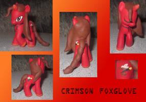 Crimson Foxglove (ver.2) by noonetells