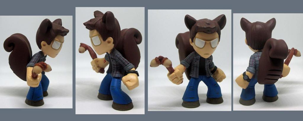 Dean Squirrel by noonetells