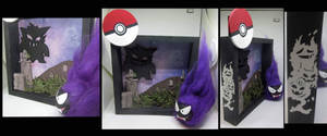 Ghost Pokemon Shadow box