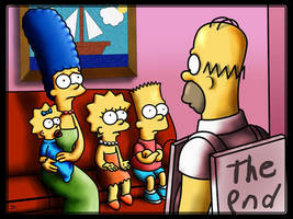The Simpsons - The end