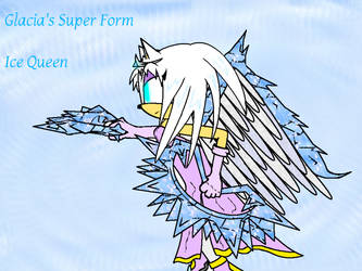Glacia Queen of The Ice Caps by xBlazeTheHedgehogx
