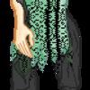 Green Dress girl by LightningFlash