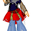 Safety Pin Girl by LightningFlash