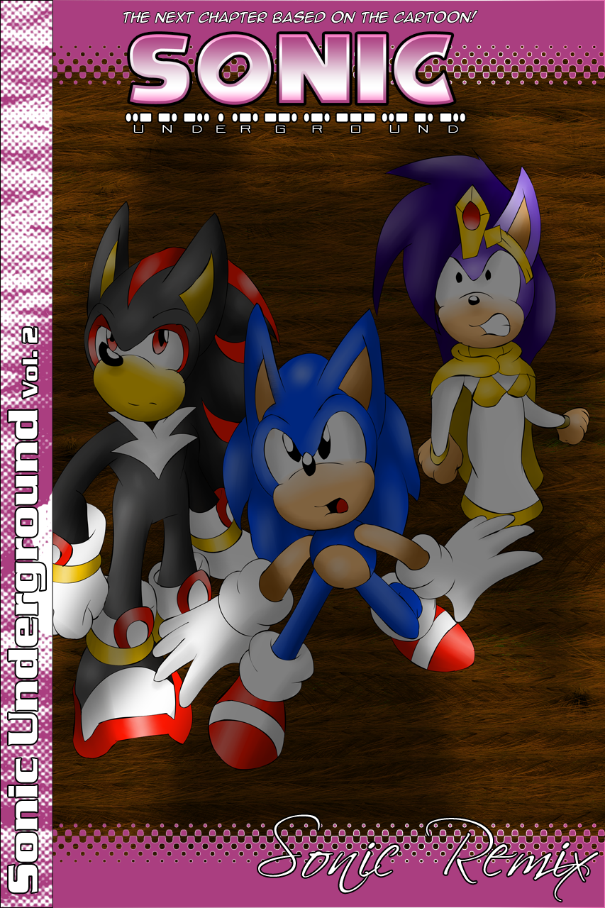 sonic underground 02 cover by sonicremix on deviantart