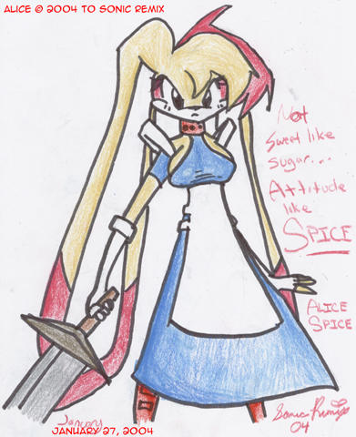 Alice Spice by SonicRemix