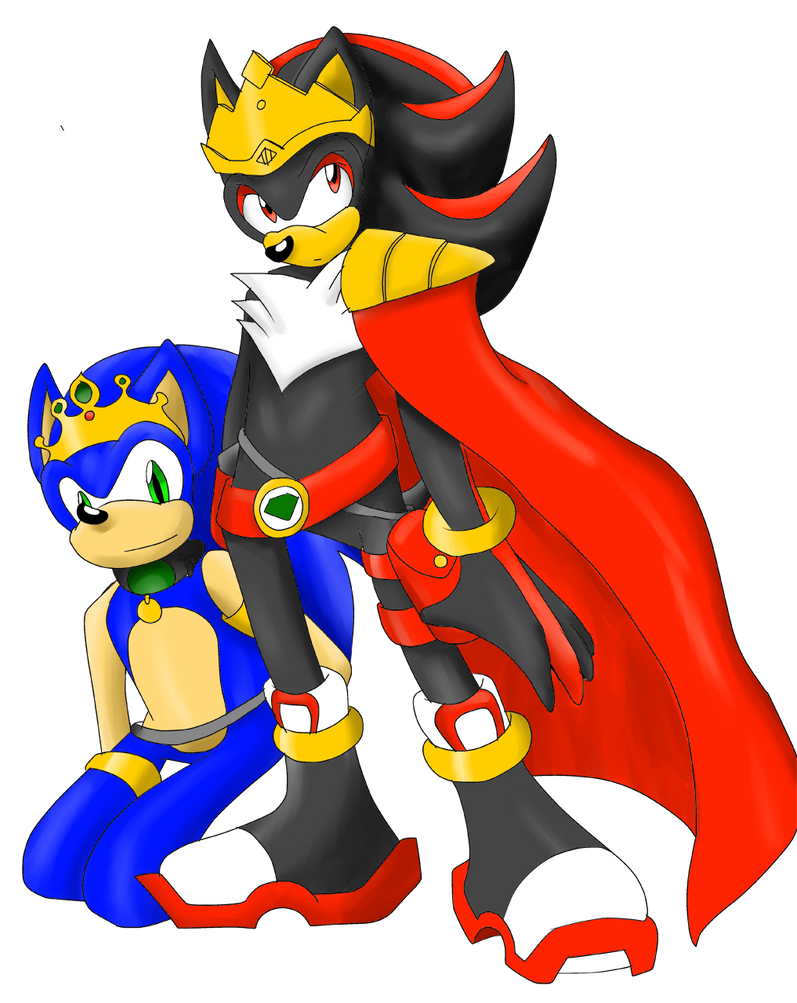 Sonic Kingdom High King Shadow And Slave Sonic By Sonicremix On