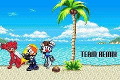 Team Remix - Sprite Comic