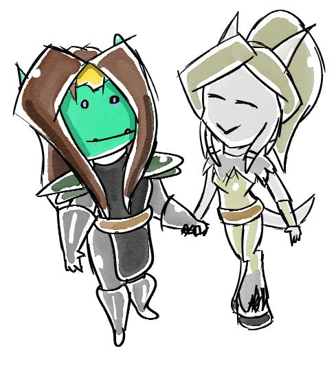 World of Warcraft - Agaronna and Yame by SonicRemix
