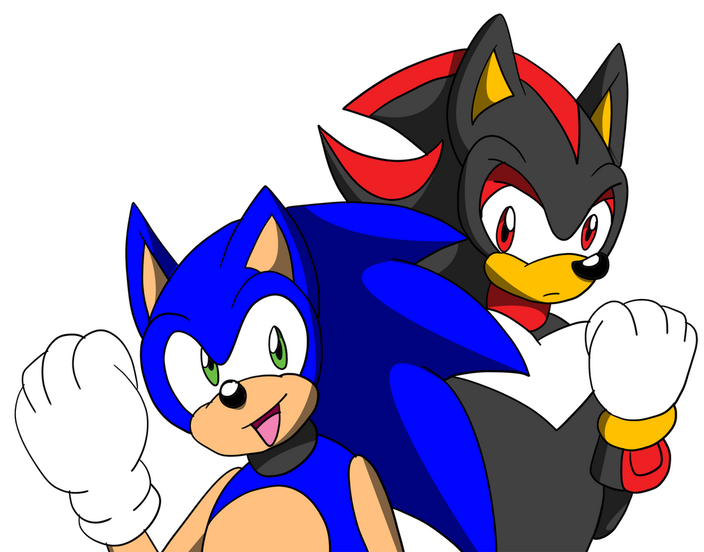 Sonic and Shadow by SonicRemix