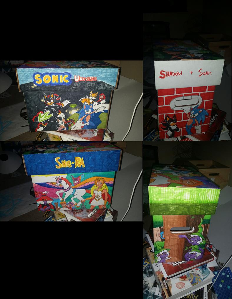 Custom Comic Box (Part 6) by SonicRemix