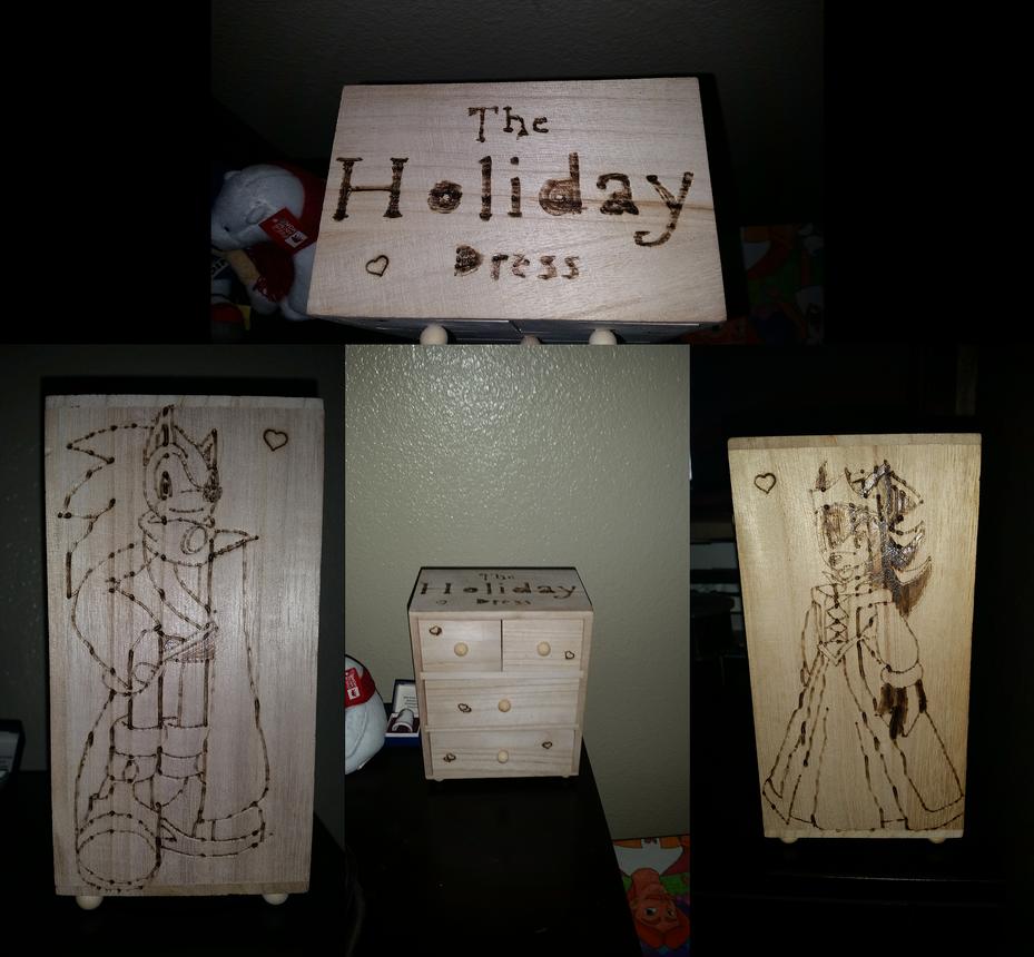 Holiday Dress Jewelry Box by SonicRemix