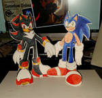 Sonadow - Return of the Papercraft Sonadow!