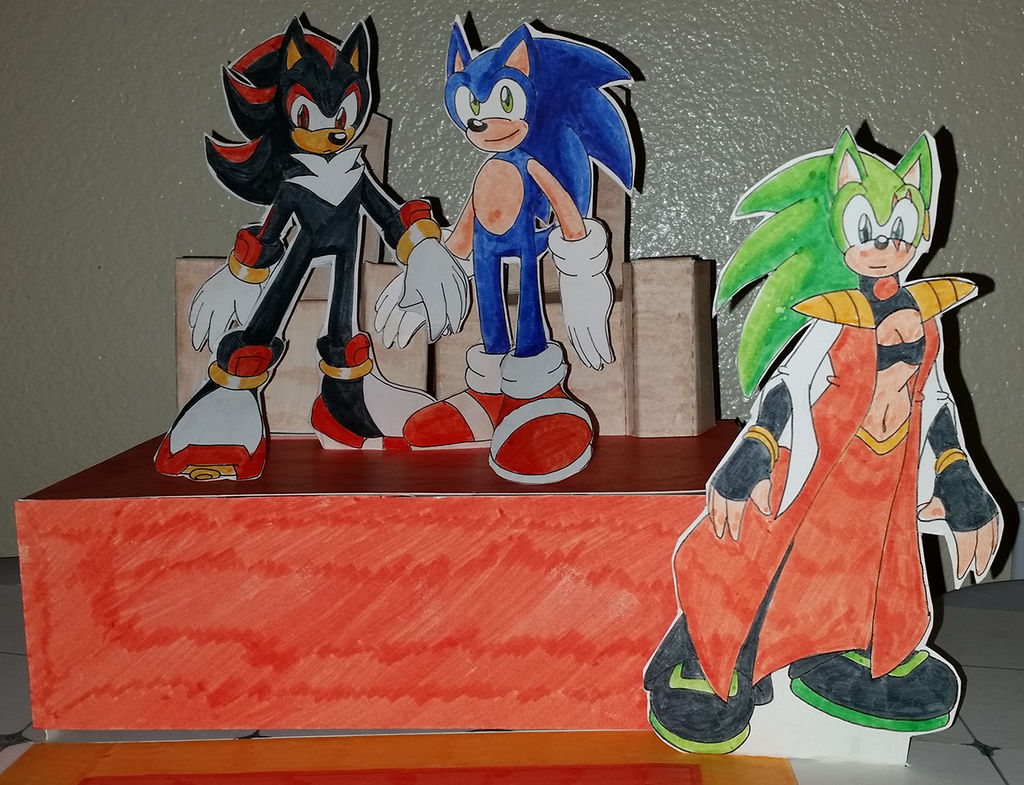 Sonadow Papercraft - Now With More HermScourge