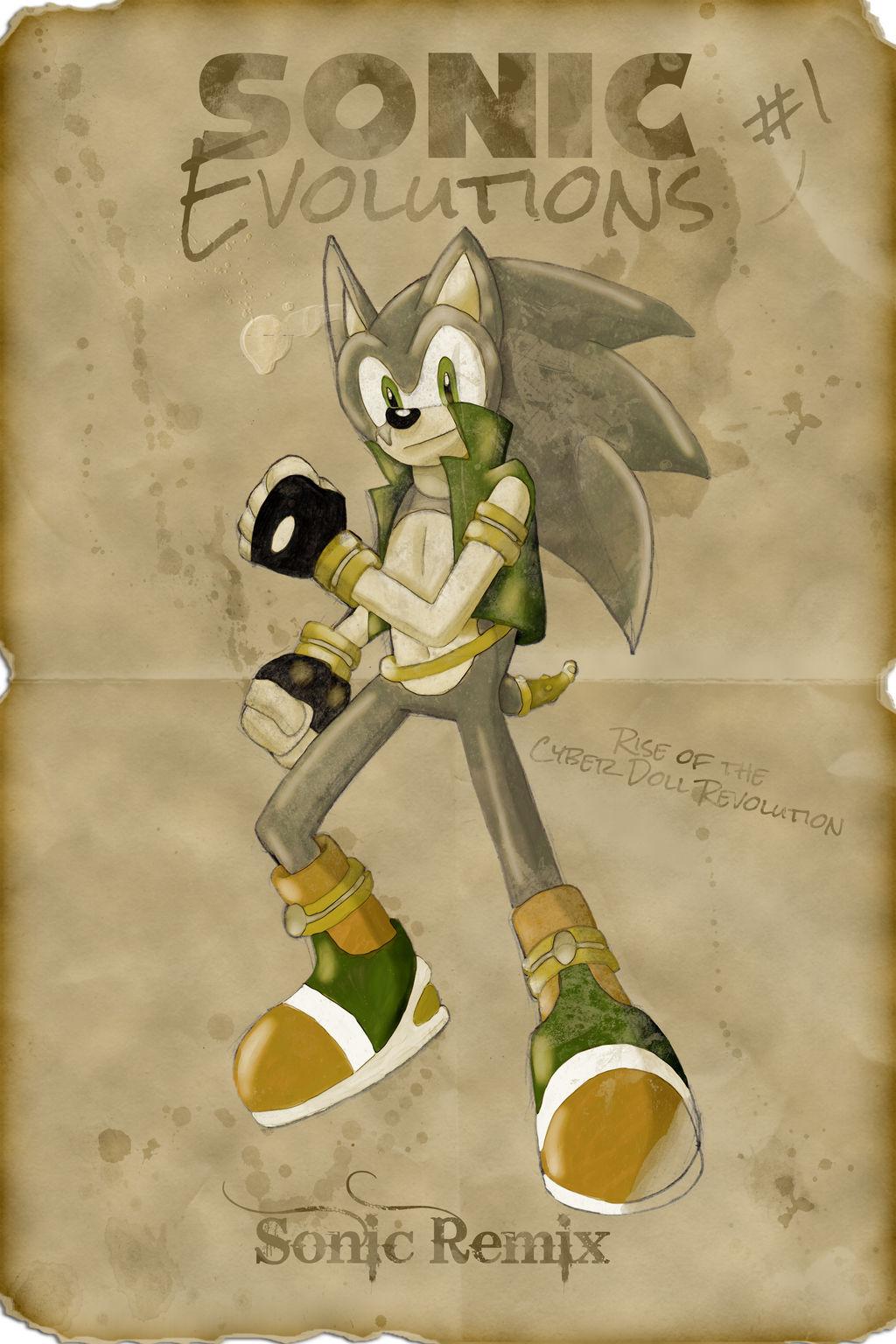 Sonic Evolutions: The Cyber Doll Revolution #01