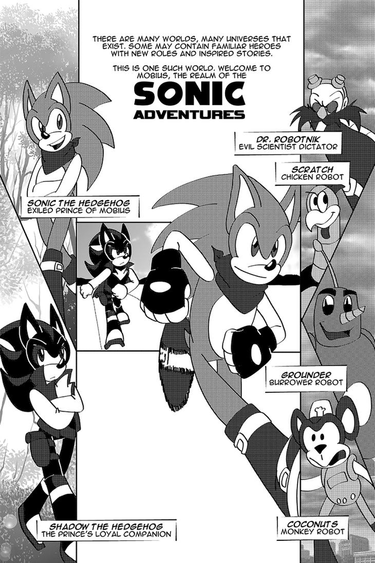 Sonic Adventures - 01 - 01 by SonicRemix