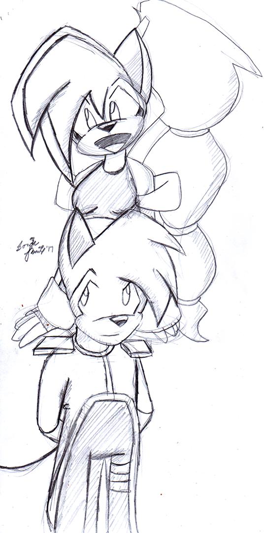 Pyro and Aqua by SonicRemix