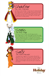 The Holiday Dress - Characters