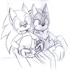 Sonic and Shadow - Gaming